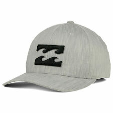 Billabong All Day Flex-Fit Cap/Hat MAHTAALL Silver Heather/Black