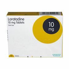 Loratadine Hayfever and Allergy Relief 10mg - 30 Tablets Non Drowsy (Clarityn)