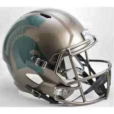 MICHIGAN STATE SPARTANS MSU NCAA Riddell SPEED Full Size Replica Football Helmet