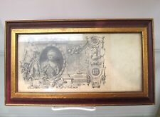 Antique Russian 100 Ruble with Catherine the Great on the Front From 1910