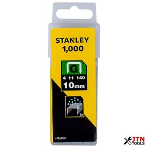 Stanley TRA706T Heavy Duty Staples 10mm Pack of 1000