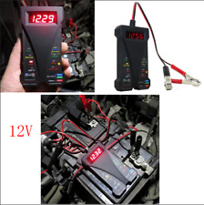 Car SUV DC12V Smart LED Digital Battery Tester Voltmeter Alternator Analyzer Kit