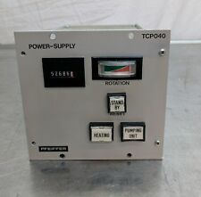 pfeiffer tcp 040 turbo pump controller turbomolecular uhv vacuum mks amat