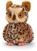 Keel Toys KEEL KEELECO OWL 19CM Soft Toy BN
