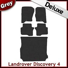 Landrover Discovery 4 2009 2010 2011 Tailored LUXURY 1300g Car + Boot Mats GREY
