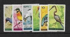 1965 Burundi Birds SG133-138 Unmounted mint