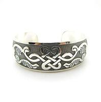 Neue tibetische Tibet Silber Totem Armreif Manschette Armband WH