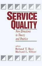 Service Quality : New Directions in Theory and Practice (1993, Paperback)