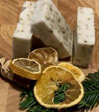 ECO NATURAL SOAP 💚 Handmade Orange Coconut Cinnamon Essential Oil Organic Gifts