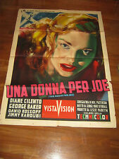 MANIFESTO,1955 UNA DONNA PER JOE, George Baker, Diane Cilento,CIRCO,TRAPEZIO,