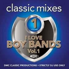 DMC I Love Boy Bands Classic Mixes Vol 1 Continuous Mixes and 2 Trackers DJ CD