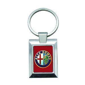 porte cles clef keyring metal luxe sport logo voiture moto Alfa Romeo -104