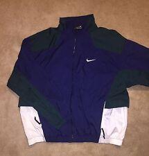 Men's Nike VNTG 90's Big Logo Coat Windbreaker Jacket Nylon Rare Sz 2XL