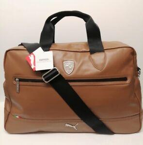 Ferrari LS Weekender Bag In Toffee 072248 Last One Left
