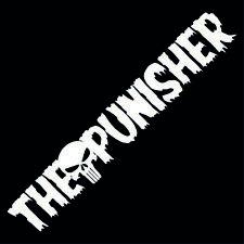 The Punisher ✔ 60cm ✔ Farbauswahl ✔ Frontscheibenaufkleber ✔ Sticker ✔ Aufkleber