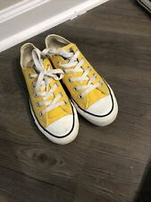 New listing converse all star chuck taylor yellow