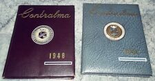 1948 & 1950 Central Catholic High School Yearbooks Reading, PA Berks County