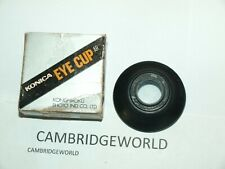 KONICA VIEWFINDER ROUND RUBBER EYE CUP NEW ORIGINAL KONICA BRAND in FACTORY BOX