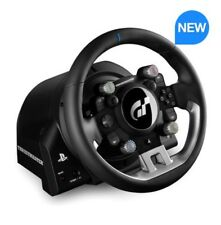 Thrustmaster T-GT: in pelle con licenza ufficiale-avvolto Racing Volante PS4