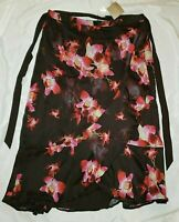 New Women's American Glamour Badgley Mischka Size 2X Skirt Floral Pattern (A2)