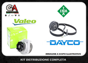 Kit cinghia distribuzione Fiat 600 seicento 1.1 1100 Ina con pompa acqua Valeo