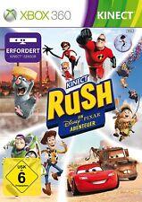 Xbox 360 Spiel Kinect Rush Abenteuer von Toy Story Oben Cars Ratatouille NEUWARE