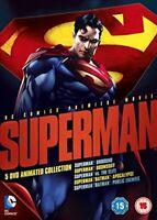 Superman Animated Movie Collection [DVD] [2013][Region 2]