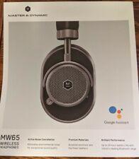 Master & Dynamic Mw65 Over-Ear Headphones Black Gun Metal