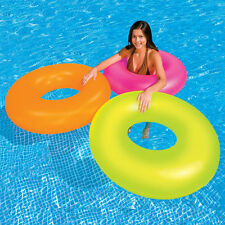 "Intex Neon Frost Inflatable Floating 36"" Tube"