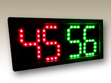 """Remote Controlled Scoreboard Red/Green (5"""" digits) w/Rechargeable Battery"""