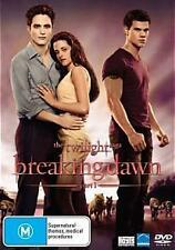 The TWILIGHT Saga BREAKING DAWN Part 1 New Dvd KRISTEN STEWART ROBERT PATTINSON