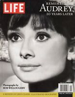Audrey Hepburn Remembering Audrey 20 Years Later LIFE Magazine /f2