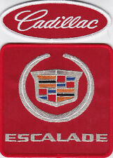 ESCALADE RED SILVER SEW/IRON ON PATCH EMBLEM BADGE EMBROIDERED V8