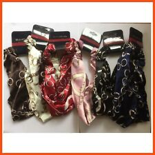 12 x HEAD BAND CHAIN PATTERN Turban Style Head Band Thick Head Band Hair Styling