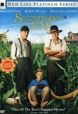 Secondhand Lions 0794043690426 With Josh Lucas DVD Region 1