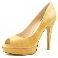 """$360 Pour La Victoire """"Angelie"""" Eel Peep Toe Platform Pumps, Women's Shoes"""