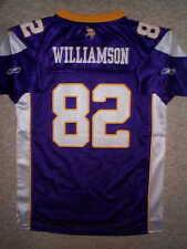 THROWBACK Minnesota Vikings TROY WILLIAMSON nfl REEBOK Jersey YOUTH KIDS BOYS xl