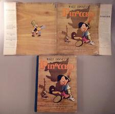 Walt Disney's Version of Pinocchio - 1939 1st Edition -- hardcover w/ dustjacket