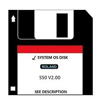Operating System Startup Disk - Roland S-50 s 50 s50 Boot Disk V 2.00