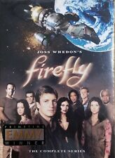 Firefly Complete Tv Series Dvd Box Set New Sealed 4 Discs Fs Whedon 2003 SciFi