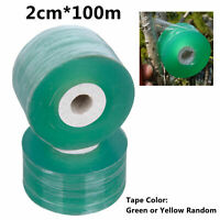 Grafting Tape Stretchable Self-adhesive For Garden 2cm*100m Seedling Tree F P0C6