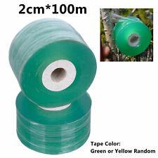 Veredelung Band dehnbar selbstklebend für Garten 2cm*100m seedling Baum F p0c6