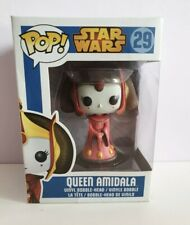 Queen Amidala #29 Funko Pop STAR WARS, TRACKING INCLUDED! RETIRED, VAULTED HTF