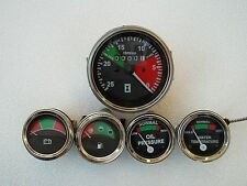 For Massey Ferguson Tractor- Tachometer + Temp Gauge + Oil Pressure + Volt + Fue