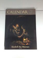Kimbell Art Museum Fort Worth Calendar March Through August 2002