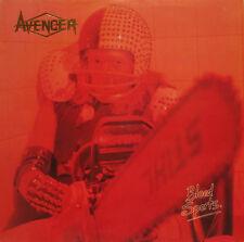 AVENGER Blood Sports - 1984 UK VINYL  LP RECORD  EXCELLENT CONDITION
