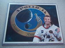 Alan Shepard autographed Apollo 14 NASA Photo