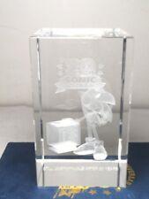 Sonic the Hedgehog 20th Anniversary Crystal Cube Limited Editioin 500 MIB