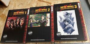 Battle royale Manga Volumes 1-3