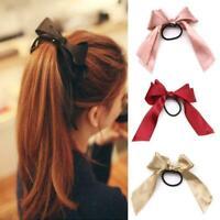 Ribbon Rope Cute Hair Ties Bow Elastic Hair Band Girl Hair Accessories Women